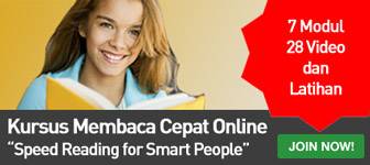 Training Membaca Cepat Online